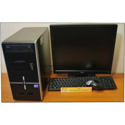 "Intel Core I5 650 4x3200MT (HDMI)+19"" LCD+Win10"
