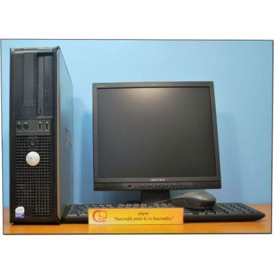 """DELL GX755 Quad Q6600 4x2400DT& ATI HD6350+ 17"""" LCD"""