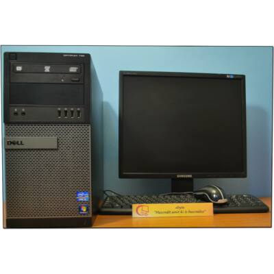 "DELL Optiplex 790 Core I3 2120 4x3300MT+ Win+ 19"" LCD monitor"