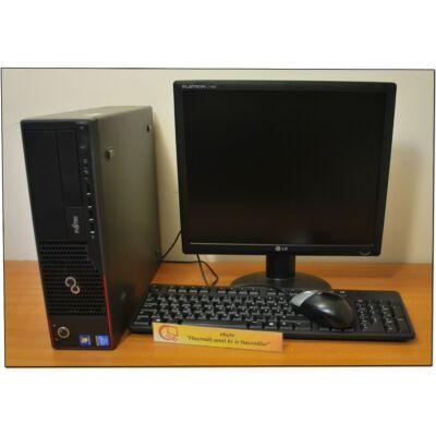 """Fujitsu E9900 Core I5 750 4x2660DT& ATI HD6450 1G+ 17"""" LCD+ Win"""