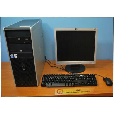 """HP DC7900 Quad Q8200 4x2330MT& ATI HD6450+ 17"""" LCD"""