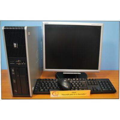 """HP DC5800 Dual Core E5200 2x2500DT& ATI HD3470+Ajándék 17"""" LCD"""
