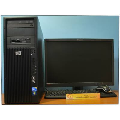 "HP Z200 Core I5 660 4x3330MT& SSD+ 22"" LCD"