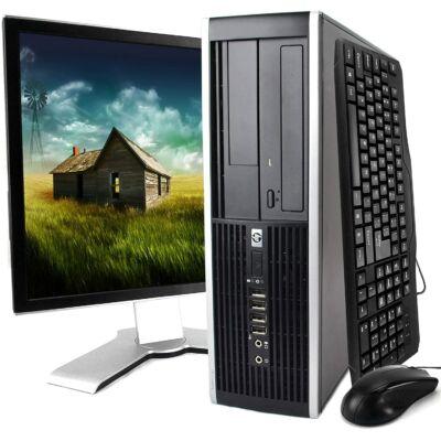 """HP Elite 8000 Core2 E7500 2x2930DT+ 17"""" LCD+ Win"""