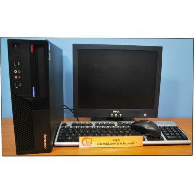 """Lenovo M57 Core2 E6550 2x2330DT + Ajándék 17"""" LCD"""