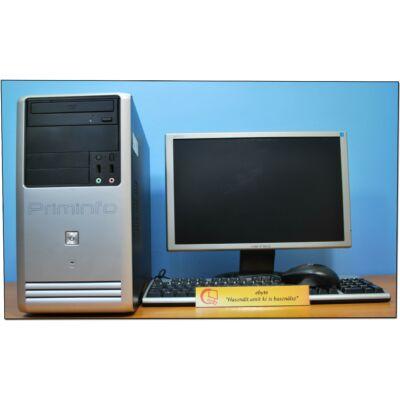"Asus Xeon X3430 4x2400MT (I5)& GeForce GT1030 2G+ 19"" Wide LCD"