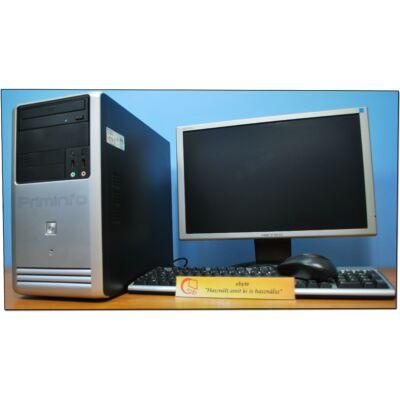 """Asus Xeon X3430 4x2400MT (I5)& ATI HD7470 1G + 19"""" Wide LCD"""