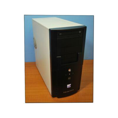 Primeinfo torony fekete-fehér számítógépház
