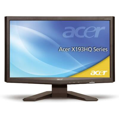 """Acer X193HQ 19"""" Wide LCD monitor"""