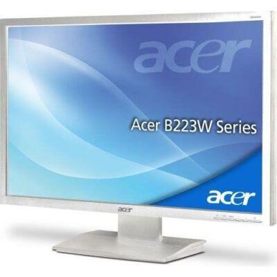 """Acer B223WL  22"""" Wide LCD monitor fehér"""