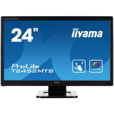 "Iiyama Prolite T2452MTS Touch Screen LED Full HD HDMI 24"" monitor"