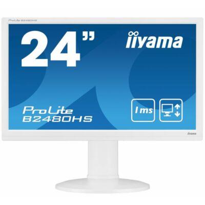 """Iiyama Prolite B2480HS-W2  LED Full HD HDMI 24"""" monitor"""
