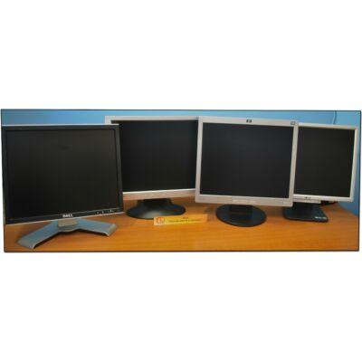 "Vegyes 17"" LCD monitor ""B"" kat, enyhe folt, karc"