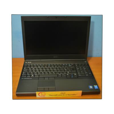"Dell Precision M4800 I7 4700MQ 8x2400/8G/320G/DRW QK1100M 15,6"" FULL HD+ Win10"