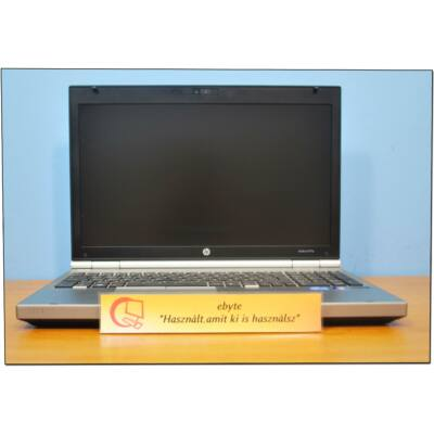 "HP Elitebook 8570p I7 3520M 4x2900MHz/4GB/120GB SSD/DRW/CAM 15,6""+ Win10"