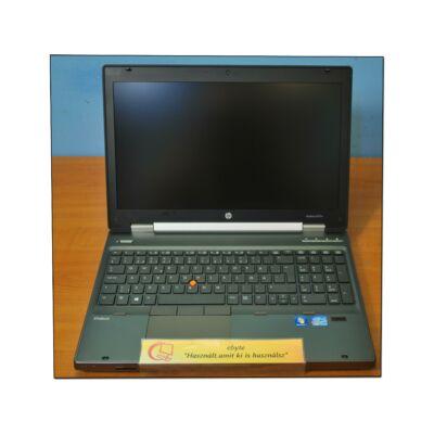 "Hp EliteBook 8570w I7 3520M 4x2900MHz/8GB/256G SSD/DRW CAM Quadro K2000m 15,6""+ Win7"