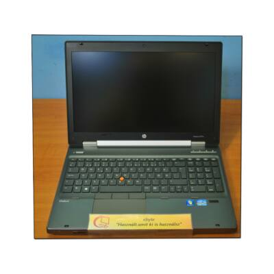 "Hp 8570w I7 3720QM 8x2600MHz/8GB/500G/DRW/Quadro K2000m/CAM 15,6"" FHD+ Win"