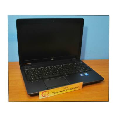 "Hp ZBook 15 I7-4800MQ/12GB/500G/CAM Quadro K2100M 15,6"" Thunderbolt+ Win7"