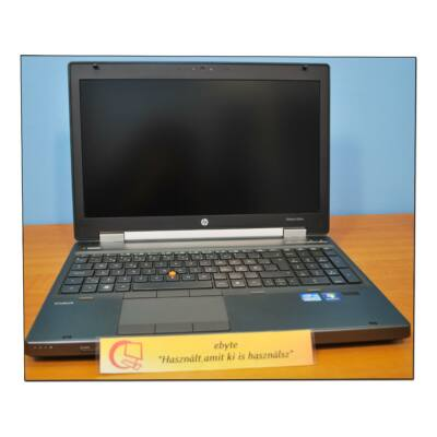 "Hp EliteBook 8560w I7 2630QM 8x2000MHz/8GB/500GB/DRW CAM Quadro 1000m 15,6""+ Win7"