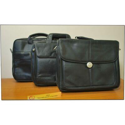 """DELL műbőr használt notebook táska vállpánttal 14,1""""-ig"""