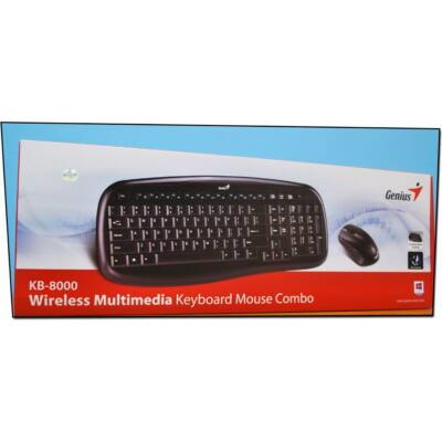 Genius KB-8000x Wireless Billentyűzet, egér COMBO ÚJ