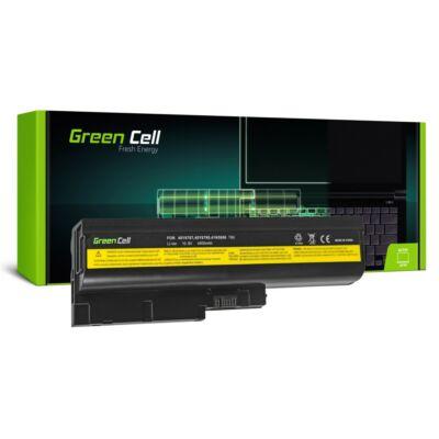 """Lenovo AKKU T60/T61/R60/R61/T500/R500/W500.. 15,4"""" 4400mAh Green Cell"""