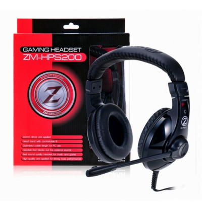 Zalman ZM-HPS200 Gaming Mikrofonos fejhallgató ÚJ