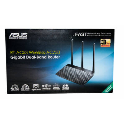 Asus RT-AC53 AC750 Gigabit lan Wifi router ÚJ