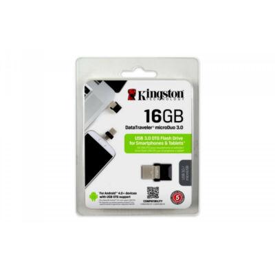 Kingston 16GB Pendrive DataTraveler microDuo USB 3,00 ÚJ