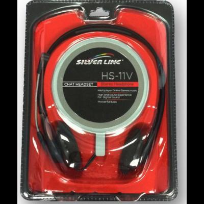 Silver Line HS-11V Mikrofonos fejhallgató ÚJ