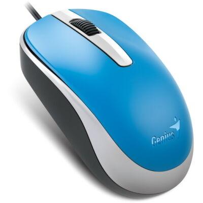 GENIUS DX-120 USB optikai egér kék 1200dpi ÚJ
