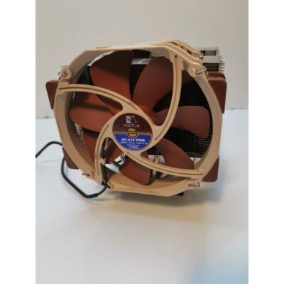 Noctua NH-D15 prémium processzor hűtő két tornyos, 2X14 cm Noctua coolerrel csak(115X)