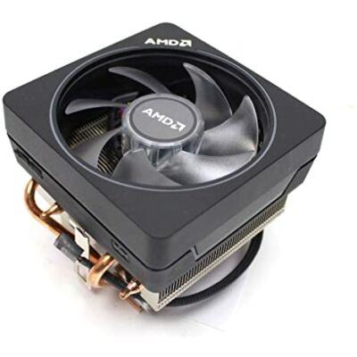 AMD Ryzen AM4 rézmagos, hőcsöves használt  processzorhűtő magas profil  leszorító pántos