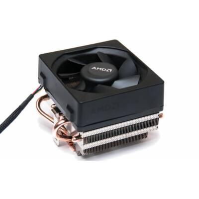 AMD am2/am3/fm2 rézmagos hőcsöves használt CPU cooler