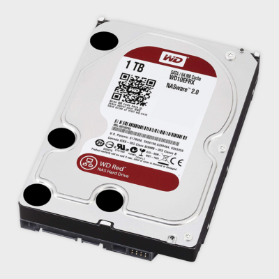 1 TB WD RED WD10EFRX 64 MB NASware 2.0