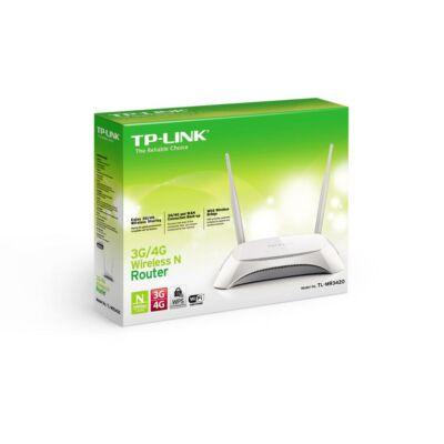 TP-LINK Wireless N Router 300Mbps TL-MR3420 3G/4G csomagolt