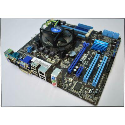 ASUS P7H55-M SI s1156 alaplap + Xeon X3430 (I5 750)!