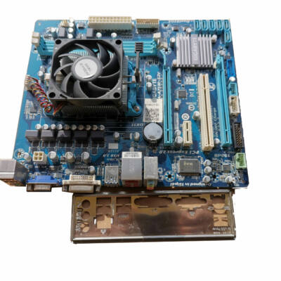 Gigabyte GA-A75M-S2V FM1 alaplap + A4-3300 (2X2500)CPU+ Cooler