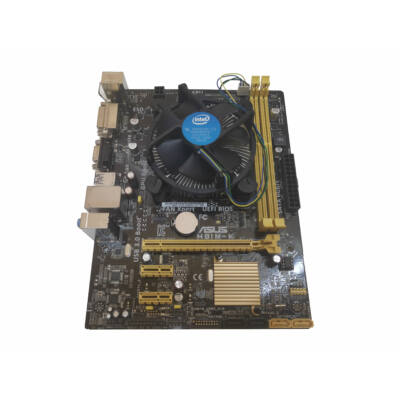 Asus H81M-K alaplap & Core I5 4460 4x3200MHz+ hűtő