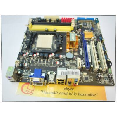 Asus M3A76-CM alaplap (AM2/AM2+, DDR2)