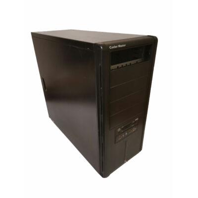 Cooler Master fekete torony számítógépház