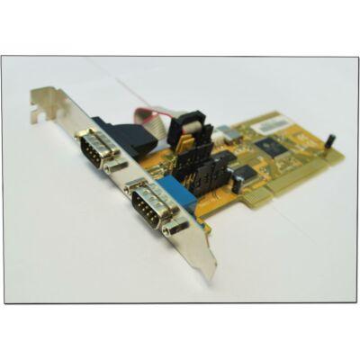 PCI Soros / Com port 2x (vegyes márka)