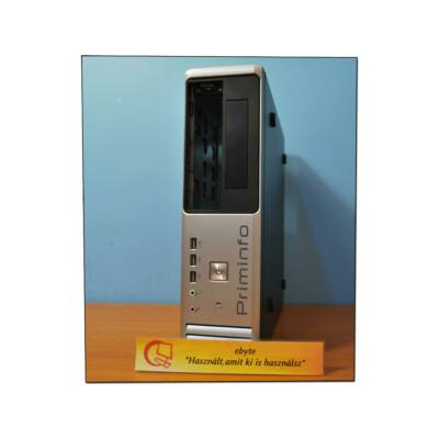 Primeinfo Desktop ház + Seasonic Active PFC 300W táp