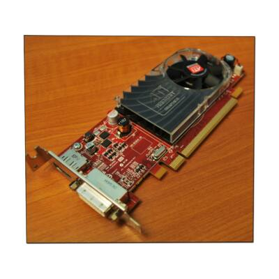 ATI HD3470 256 MB LP PCI-E videokártya