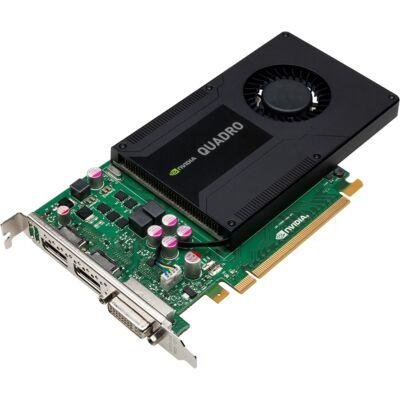 NVidia Quadro K2000 2GB DDR5 256bit PCI.E videokártya