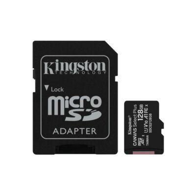 MICRO SD CARD 128GB KINGSTON CL10 A1 adapterrel SDCS2/128GB
