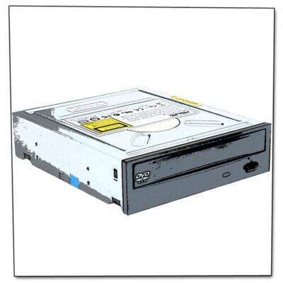 DVD olvasó vegyes IDE (fehér)