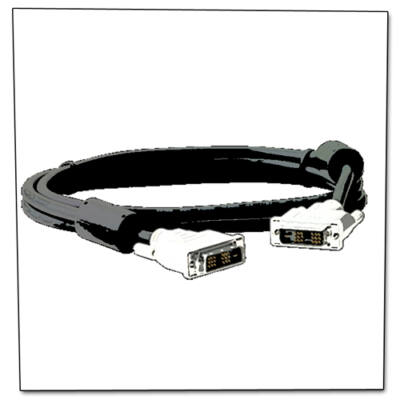 DVI monitor adat kábel 2x árnyékolt csomag 10db
