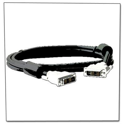 DVI monitor adat kábel 2x árnyékolt