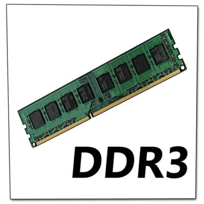 2GB DDR3 memória PC (vegyes márka)